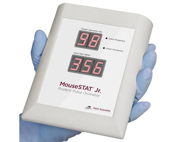 Mousestat Jr Pulse Oximeter Heart Rate Monitor Kent Scientific