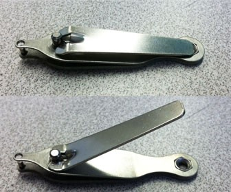 Nail-Clipper Style Ear Punch